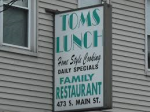 TOM'S LUNCH
